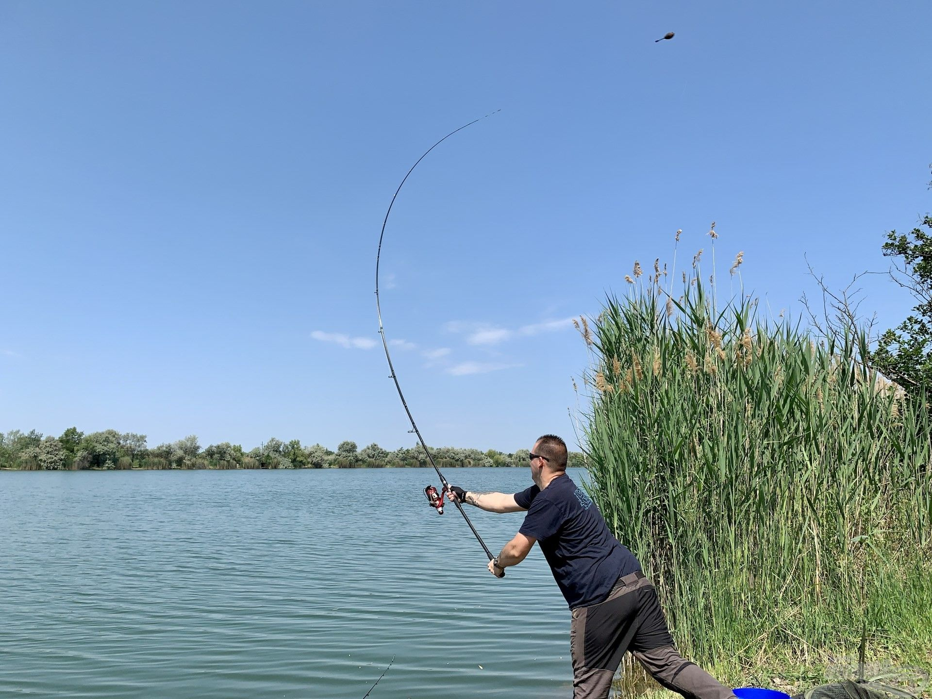 … így nekem is teljesen új alapokra kellett helyeznem az itteni horgászataimat…