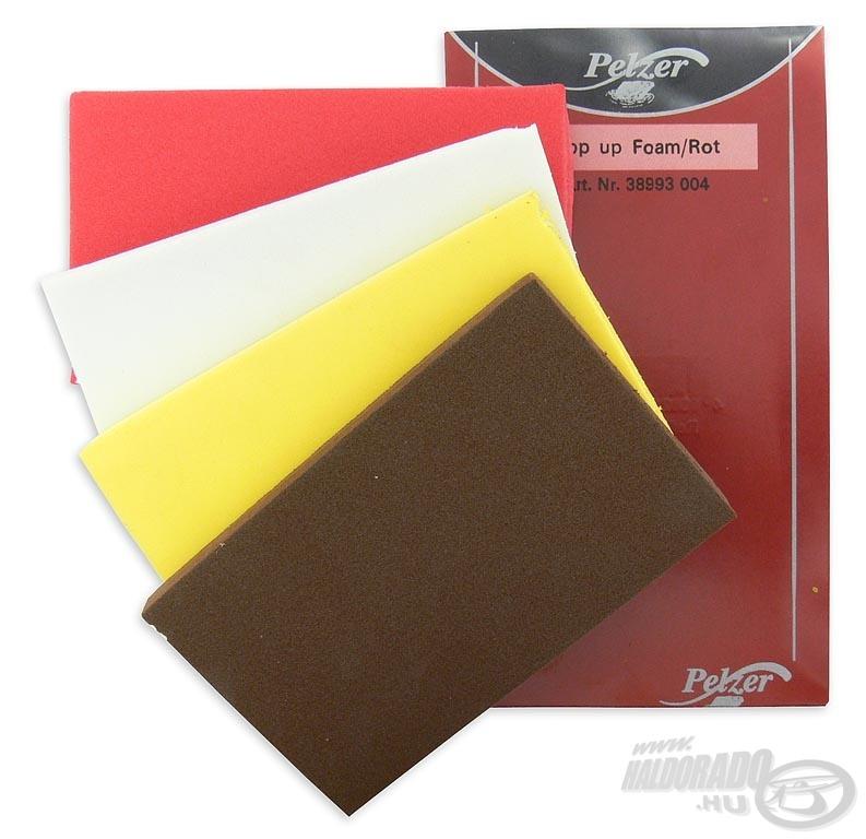 Több színben is kapható, így minden esetben hozzá tudjuk illeszteni csalink színéhez