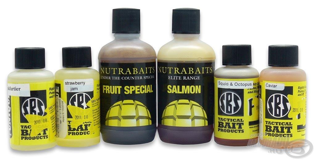 Az SBS és Nutrabaits aromák a legjobb minőséget képviselik