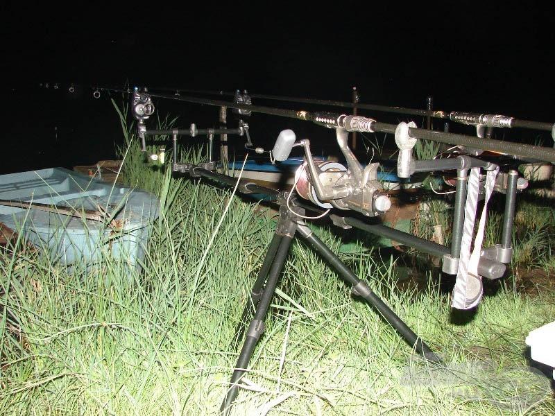A horgászhelyet világítsátok ki minden esetben, mert a halőrök sok helyen szigorúan veszik ezt a horgászati szabályt