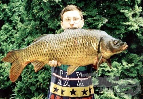 Amint a képen látható, a halon azért mutatkozott némi szépséghiba...