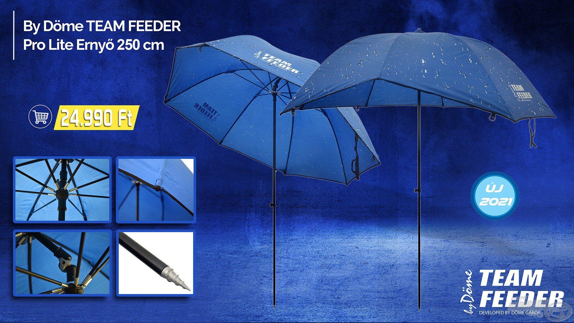 Az ernyő egy olyan kiegészítő, mely nem hiányozhat szinte egyetlen horgász kelléktárából sem