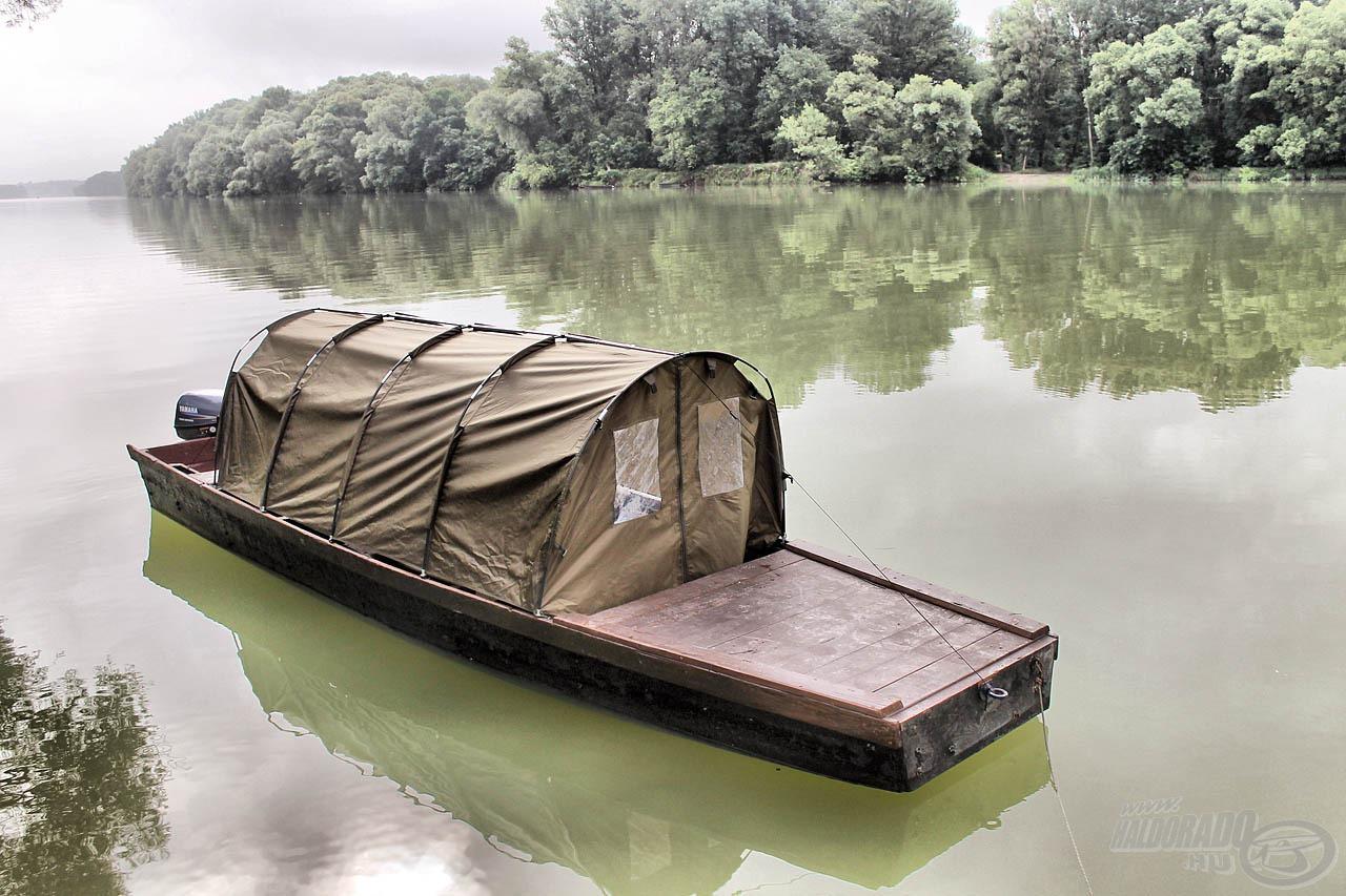 Komplett megoldás a csónakos pecásoknak