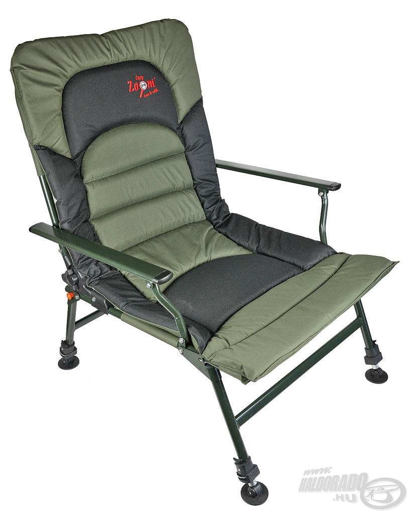 A kényelem magasiskolája ez a fotel