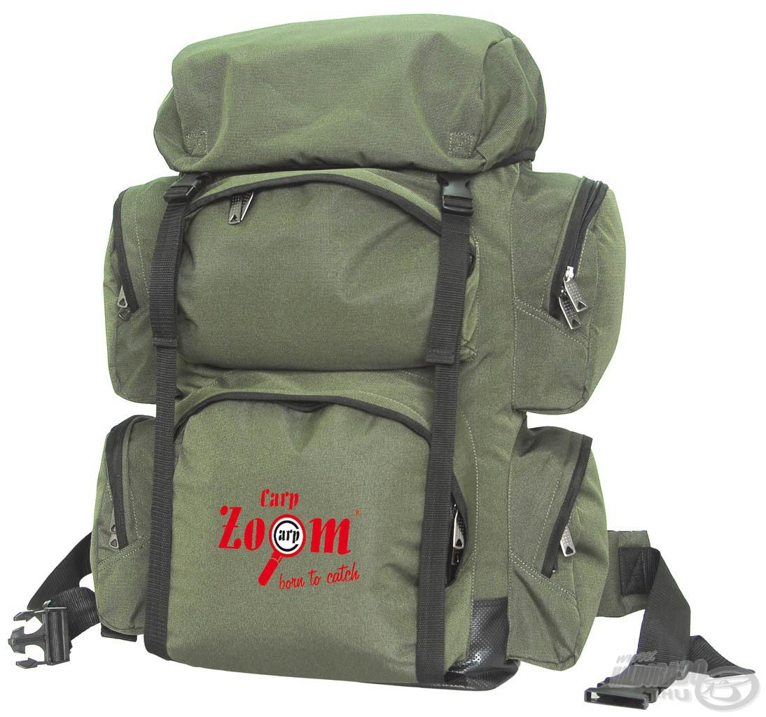 Nagyméretű, 70 literes hátizsák