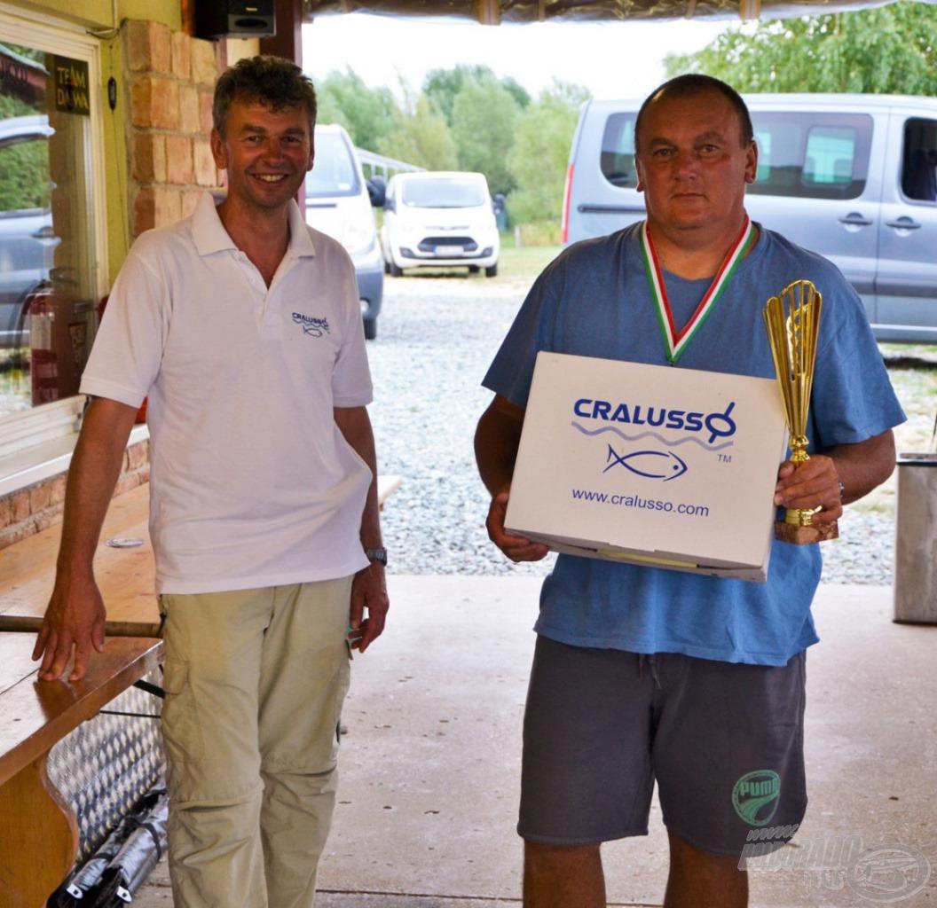 Matchbotos forduló első hely: dr. Köppel Szilárd