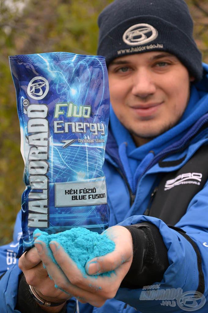 A Fluo Energy Kék Fúzió etetőanyag tökéletes kombinációja egy modern, extravagáns keveréknek, mely ugyanakkor maximálisan alkalmas az óvatos, öreg pontyok megfogására is!