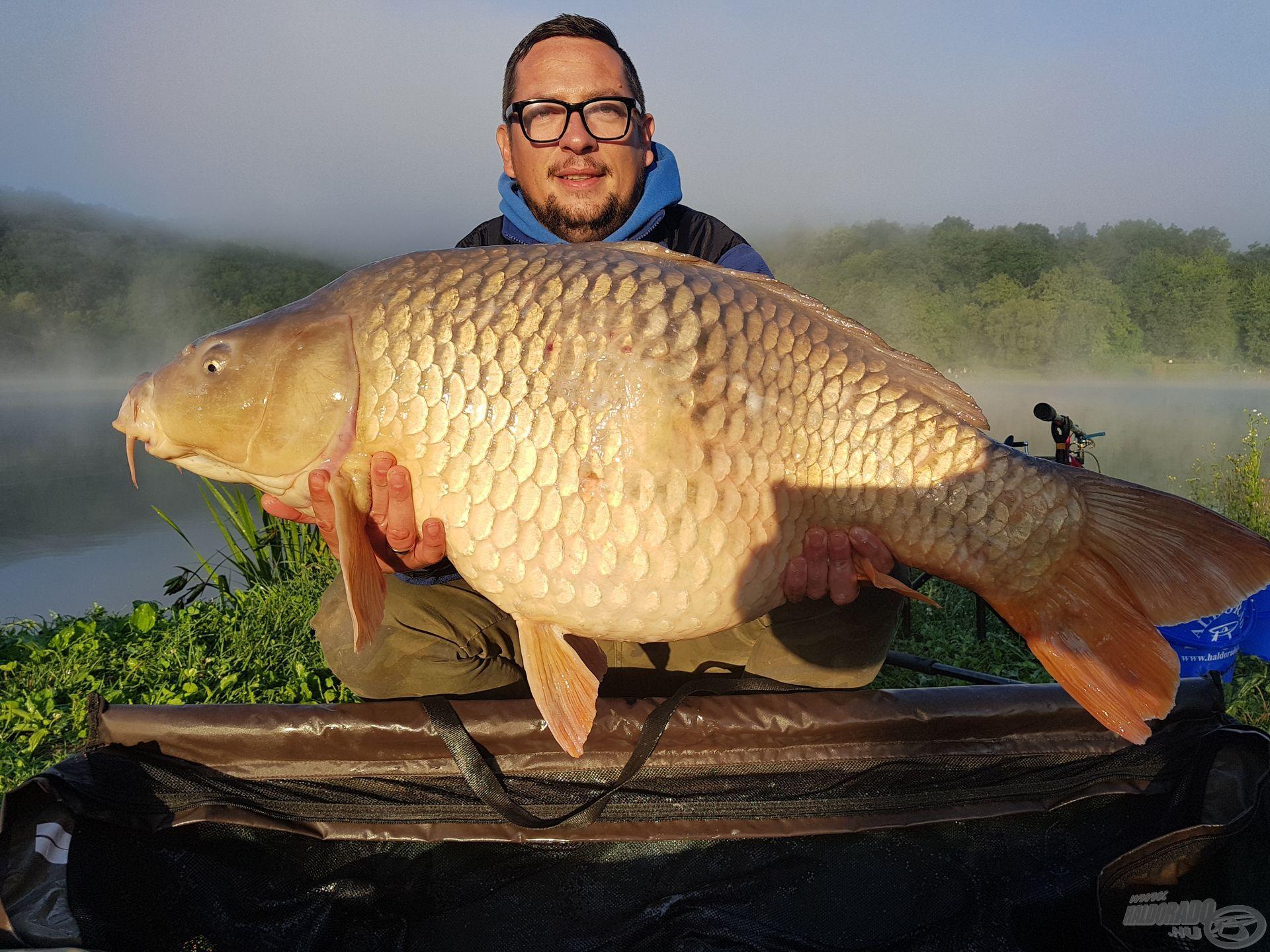 Újabb rekordot megdöntő hal, 21 kg