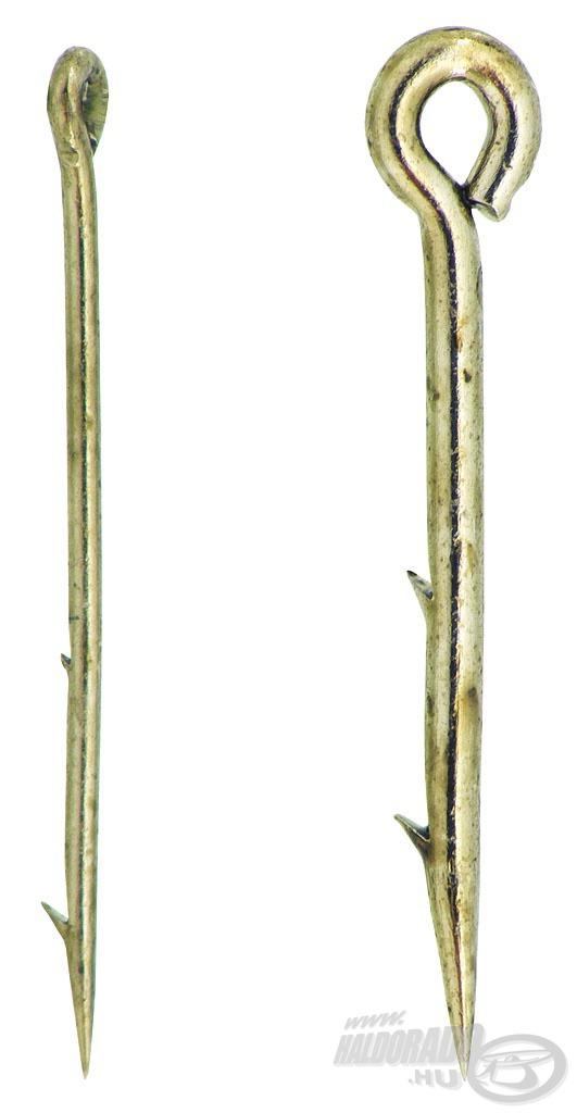 A normál tüske 0,6 mm vastag, míg az új, vékony tüske mindössze 0,35 mm