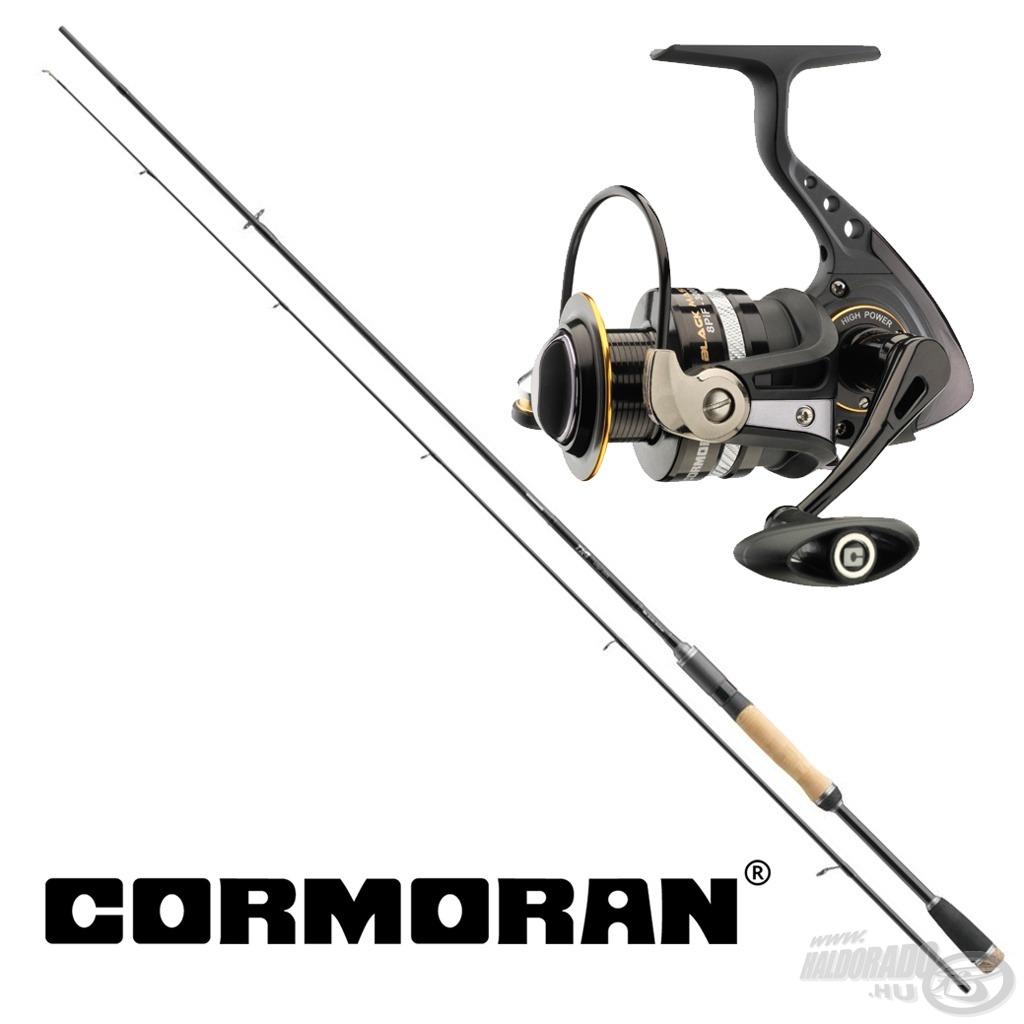Napjainkban egyre kedveltebb a kis csalis vadászat a különböző ragadozókra, ezzel a Cormoran szettel ezt ki lehet próbálni!