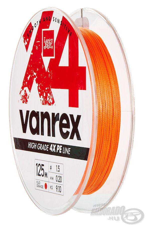 Lucky John Vanrex X4 Braid Fluo Orange