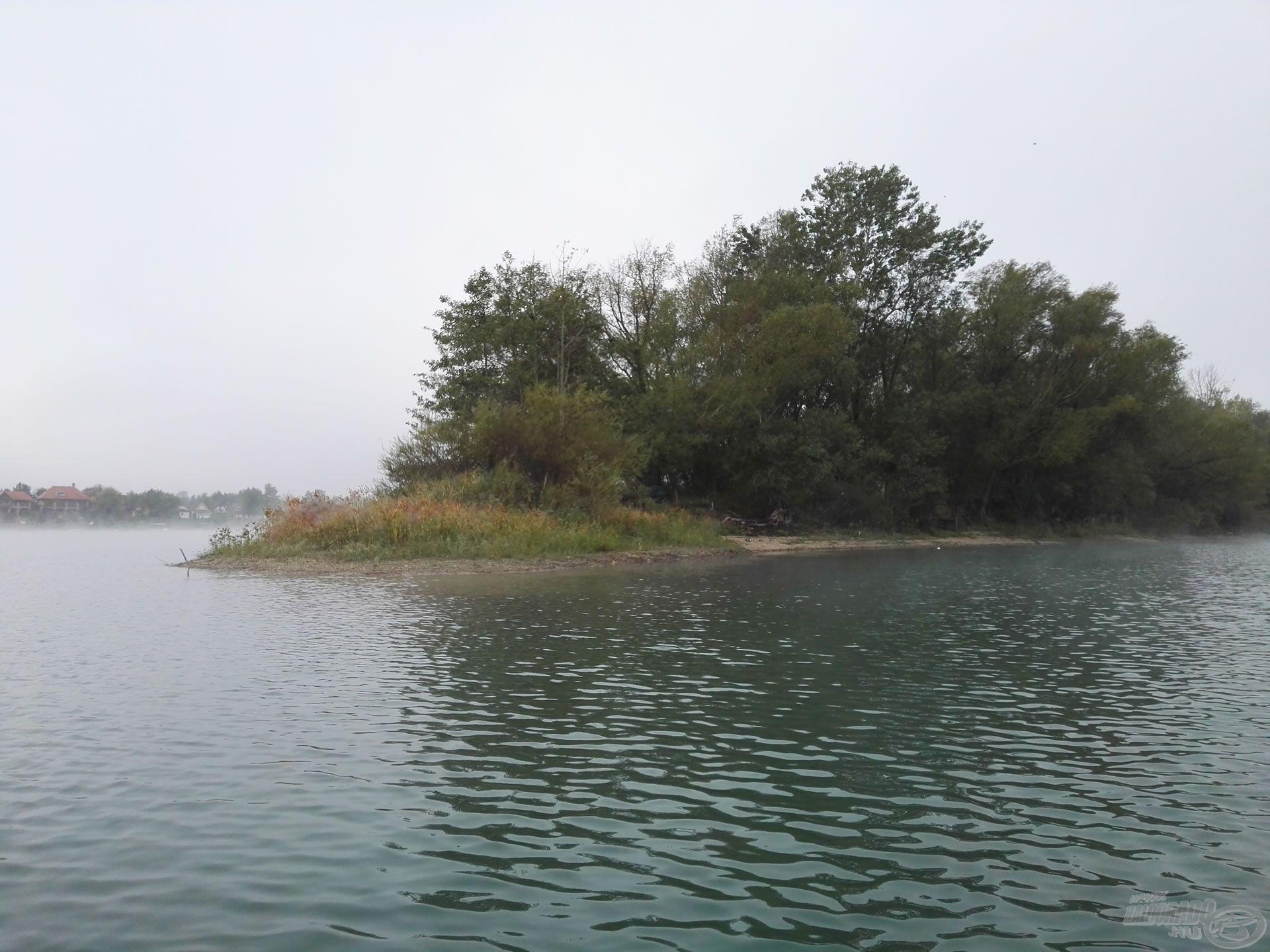 Horgászhelyem, a szigetspicc