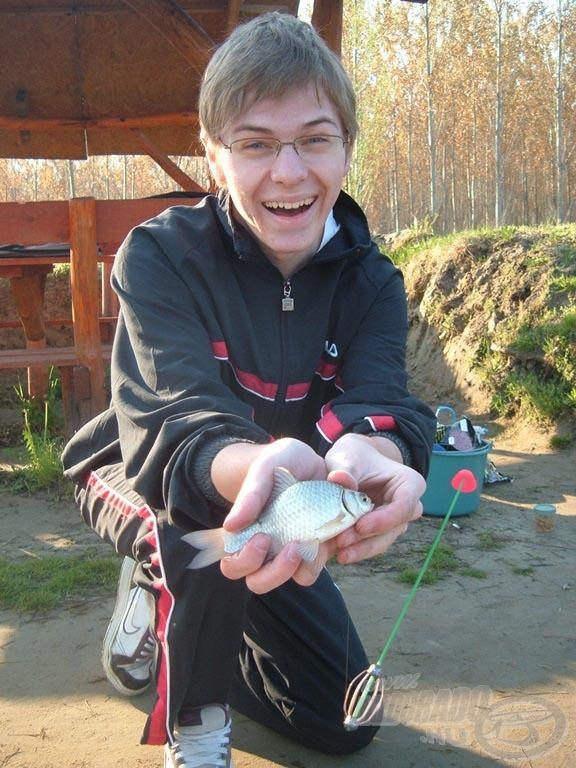 Kicsi a hal, de nagy az öröm