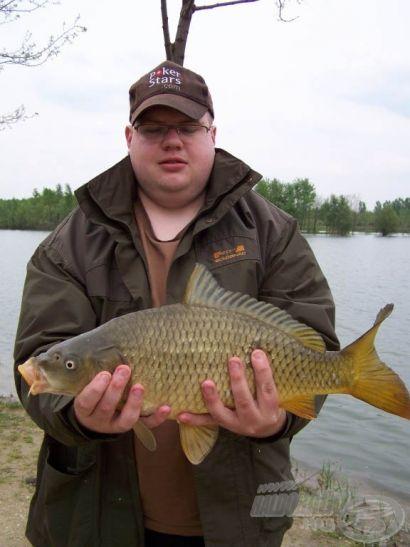 Egy nehezen induló, de a nap végére eredményessé váló horgászat