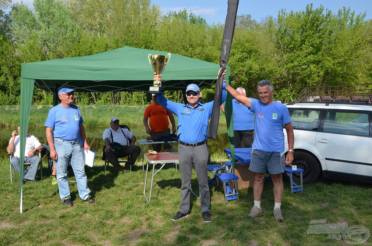 Döme Gábor egyedüli kétpontosként megnyerte a versenyt