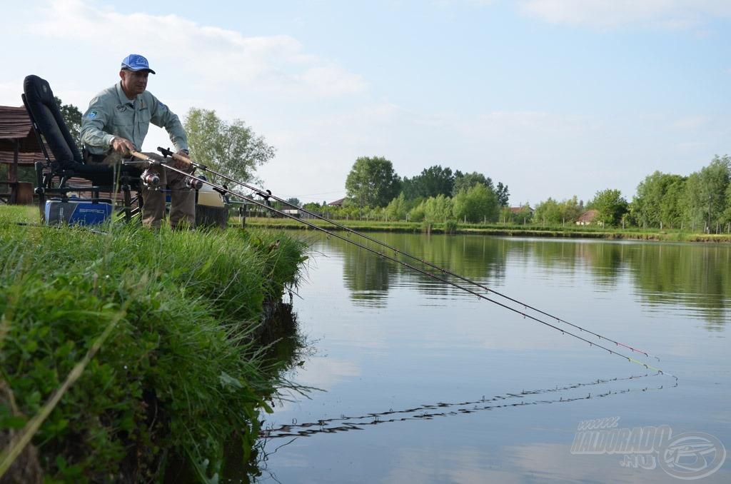 Az új fejek tartóssága, rendkívüli stabilitása a sok-sok horgászat során nagyon meggyőző volt. Ezek után már nem volt kérdés, hogy forgalomba kerülhetnek!