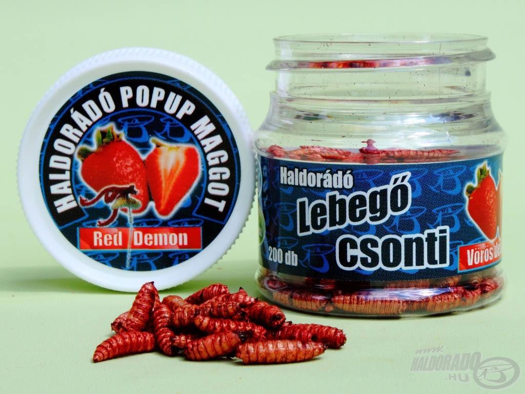 Az ízesítésekhez a Haldorádó legnépszerűbb aromáit választottuk, így készült a Vörös Démon…