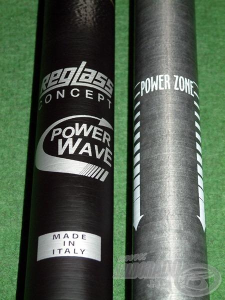 A tagok alsó részei a Power Zone-nak köszönhetően egy speciális erősítést kaptak