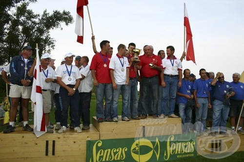 A boldog győztes csapatok
