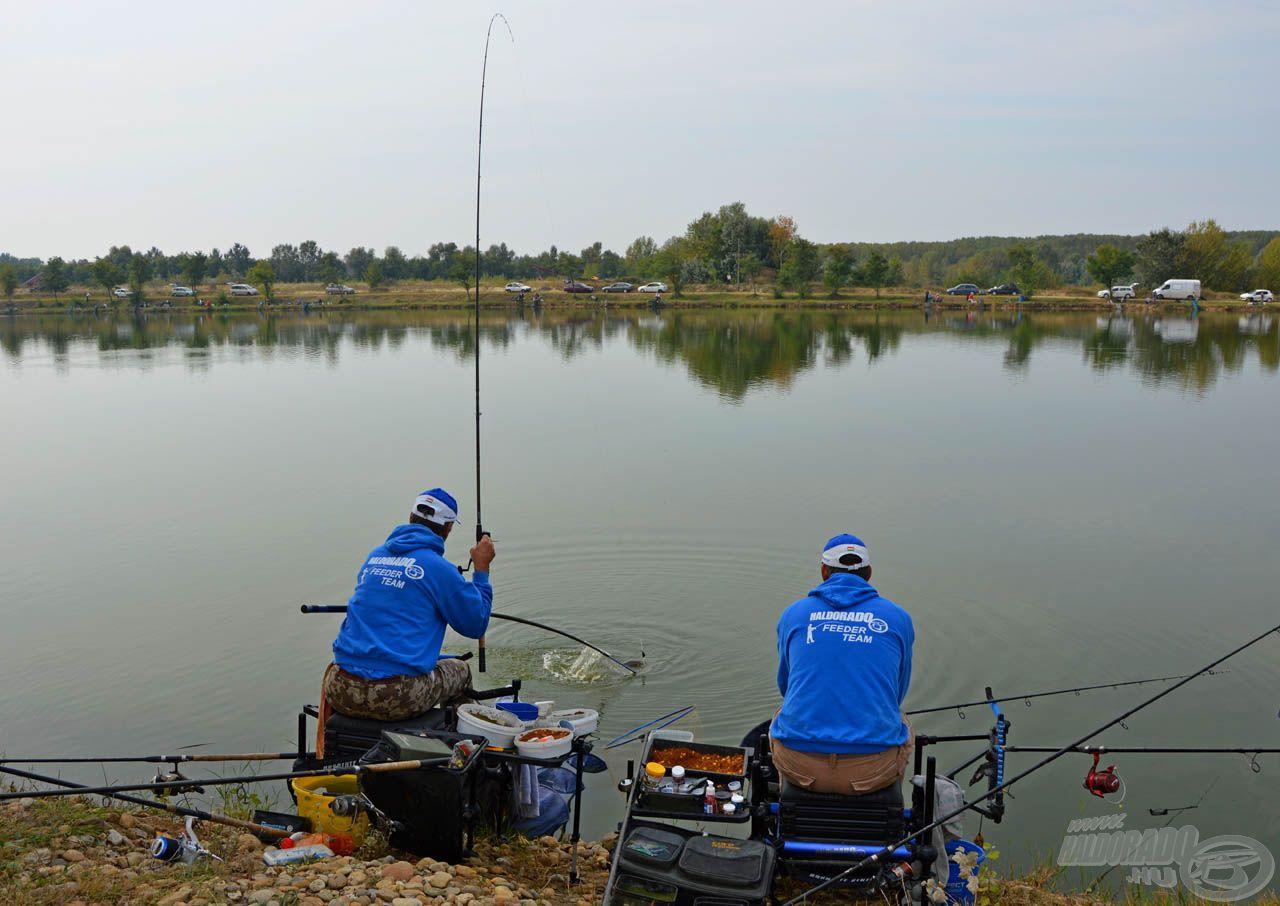 """E """"gyakorlóversenyeket"""" olyan vizeken rendezik, ahol szinte mindenki fog halat, így szórakozásnak sem utolsó ezeken részt venni"""