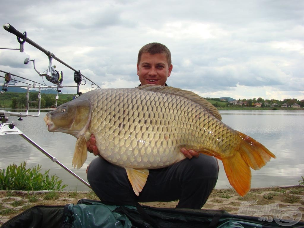 Azért az OB első fordulójában is sikerült szép halakat fogni