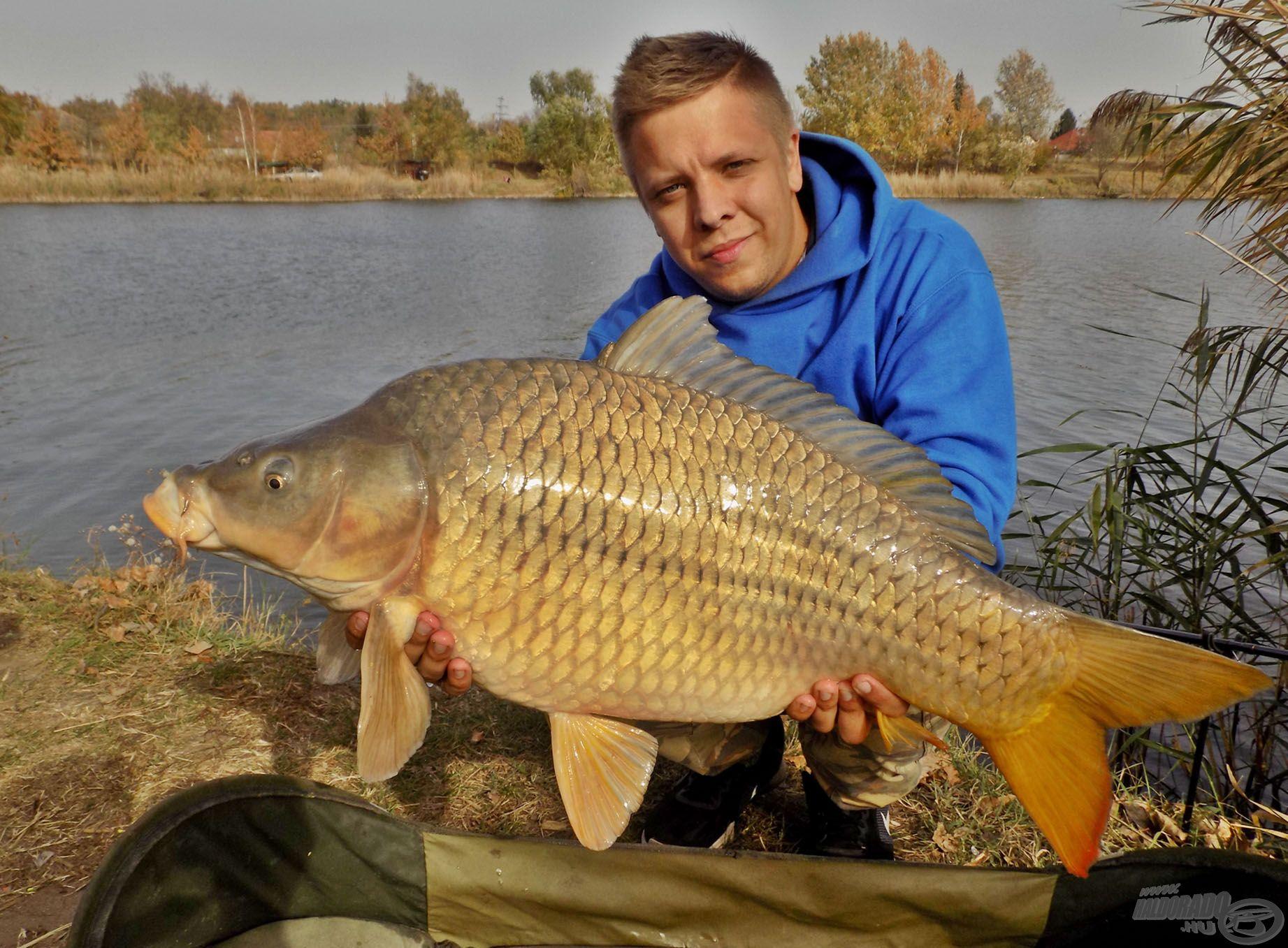 … melynek eredményeképpen akár 10 kg feletti halakat is tarthatunk a kezünkben!