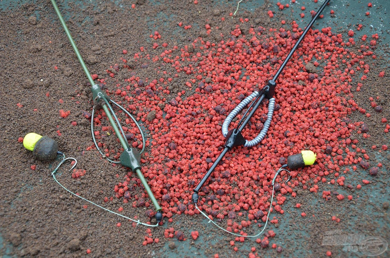Hatékony és egyszerű végszerelékem, amelynek kulcsfontosságú eleme a 35 grammos Pellet Feeder kosár, amely megtöltve 100-120 gramm össztömegű lesz