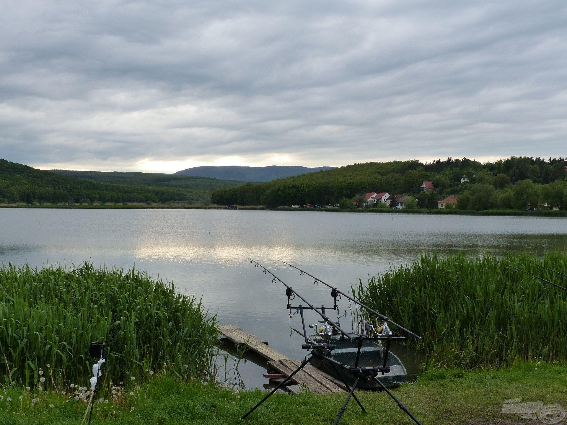 A horgászok zöme itt a bojlis módszert preferálja