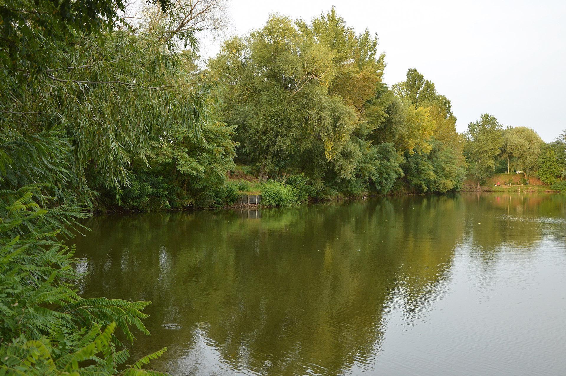 Nem alakítottak ki túl sok horgászhelyet, ez is biztosítja az ember privát szféráját és zavartalan nyugalmát
