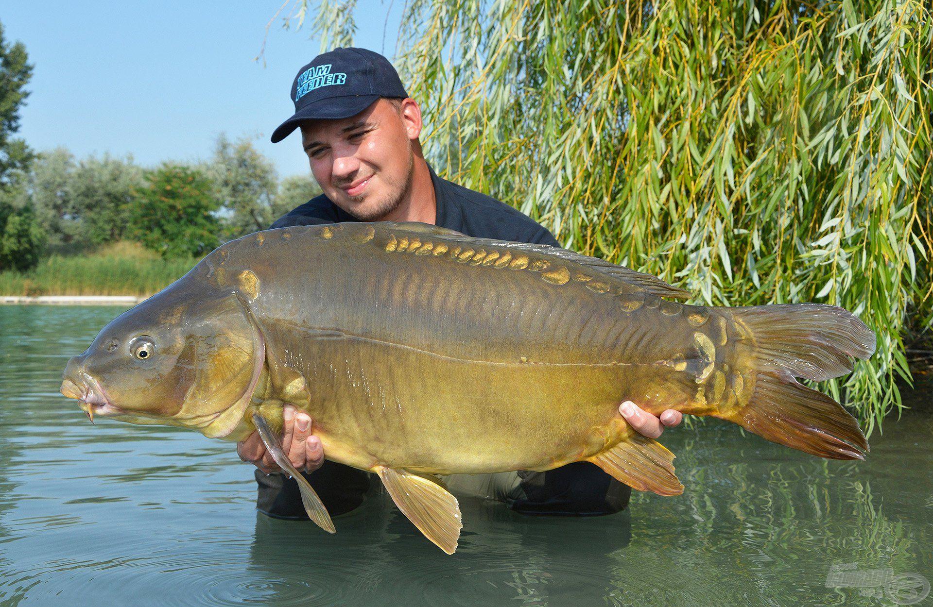 Első dabasi horgászatom csúcs hala ez a 15 kg feletti matuzsálem