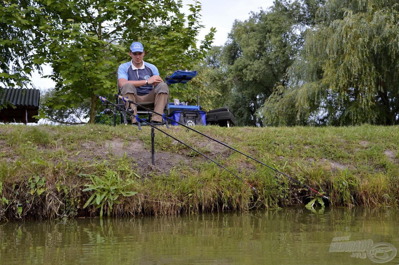 Jó érzés volt újra a gyönyörű környezetben horgászni, ám engem egy gondolat foglalkoztatott igazán: Vajon sikerül megközelíteni a legutóbbi horgászat eredményeit?