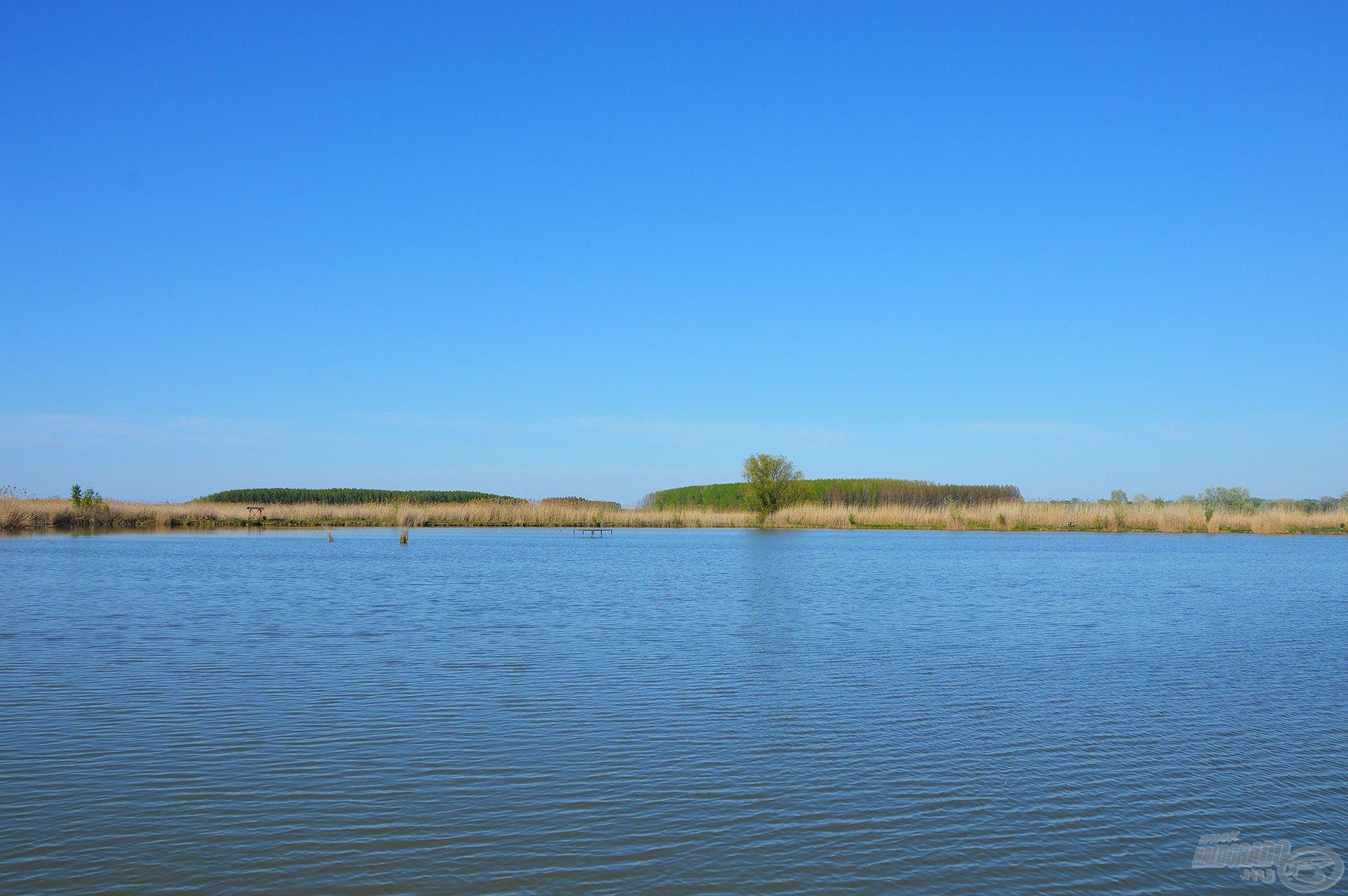 Megannyi lehetőség és sok szép hal otthona ez a víz
