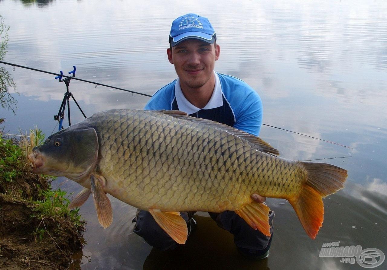 Korábbi horgászataim, teszteléseim során sikerült kiismerni a tó halait, köztük néhány igazi kapitális példány is megtisztelt
