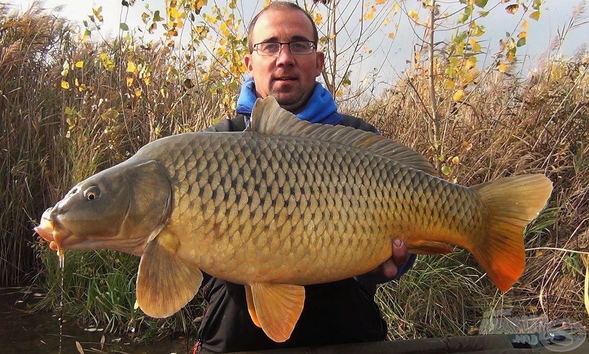 A nap legnagyobb hala ez az egészséges, 11,28 kg-os tőponty volt
