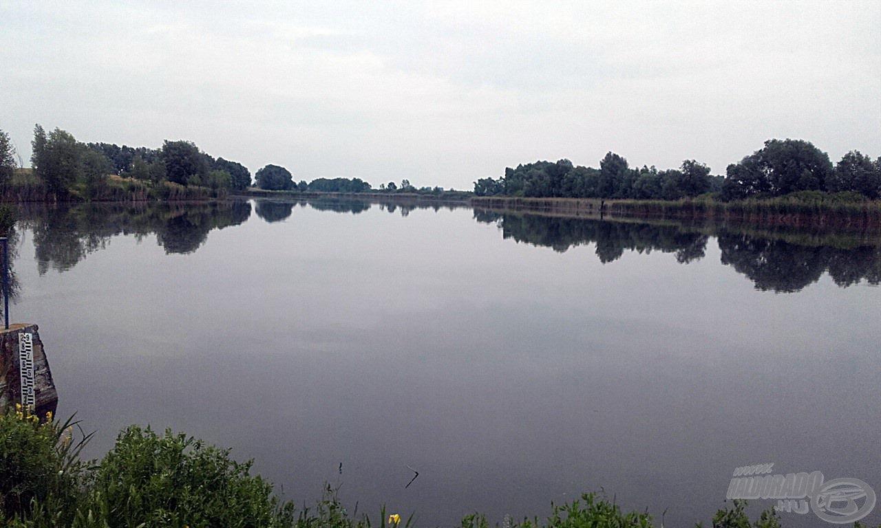 A Grabovo - Kaiševac-tó egy kis része