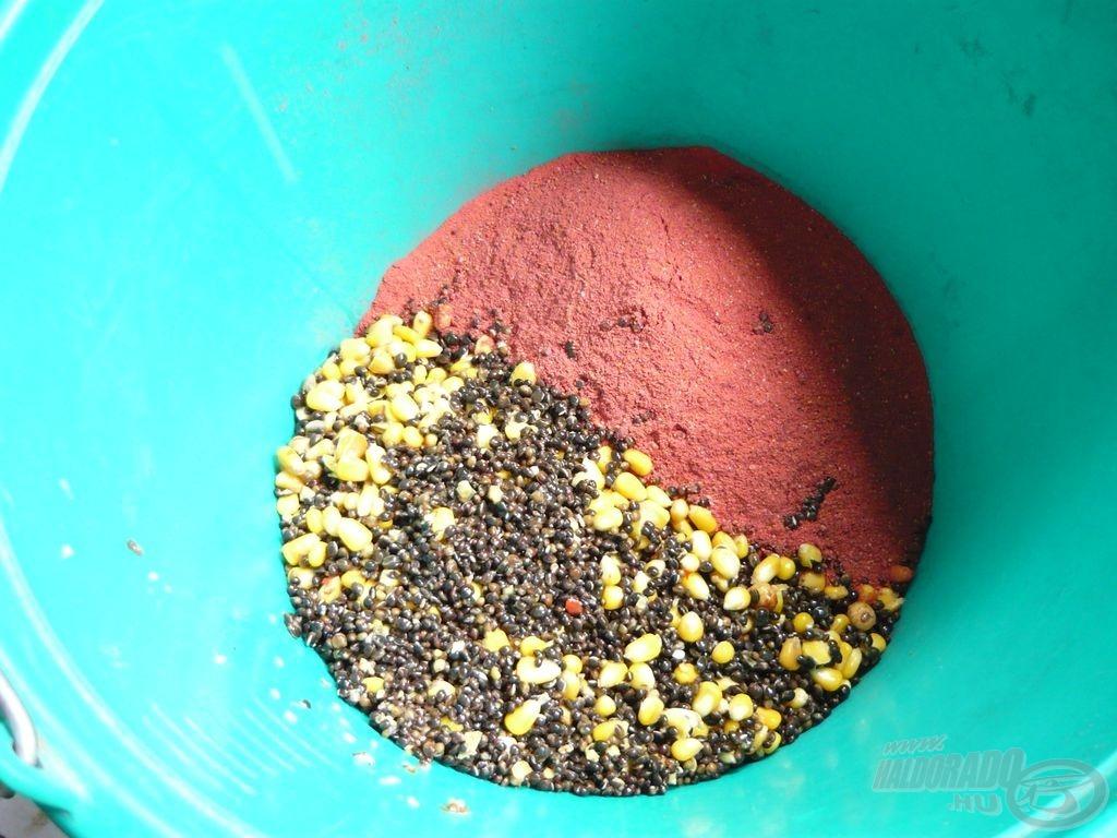 Friss, főtt kukoricával és kenderrel gazdagítjuk