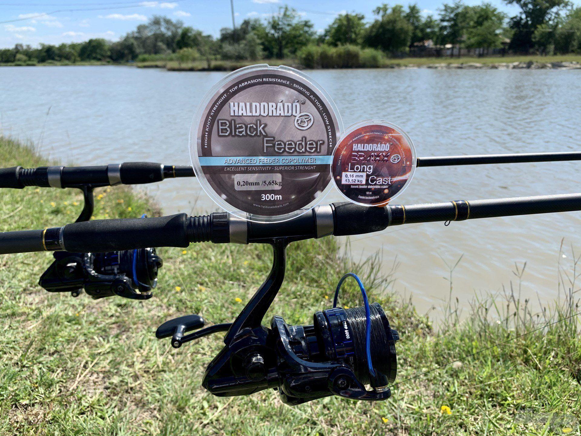 … és Fine Carp 6000-es orsókat használtam a horgászat során