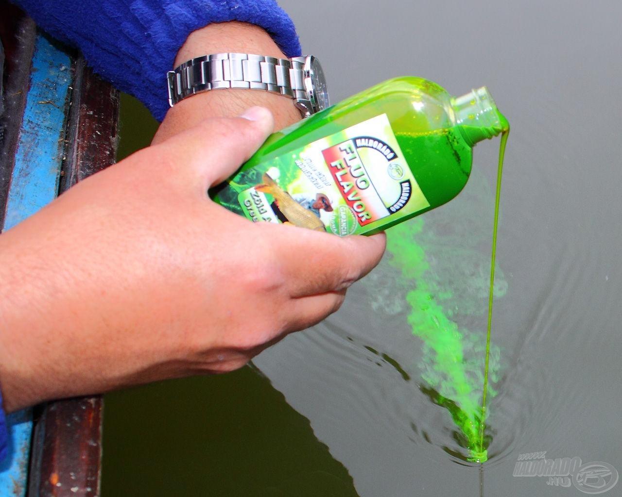 Egy korty a halak egészségére! Mennyire zöld? Szuperzöld!