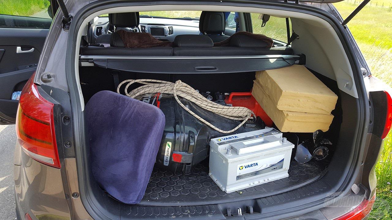 Íme, a második adag… a szivacsok maradtak a kocsiban… :D
