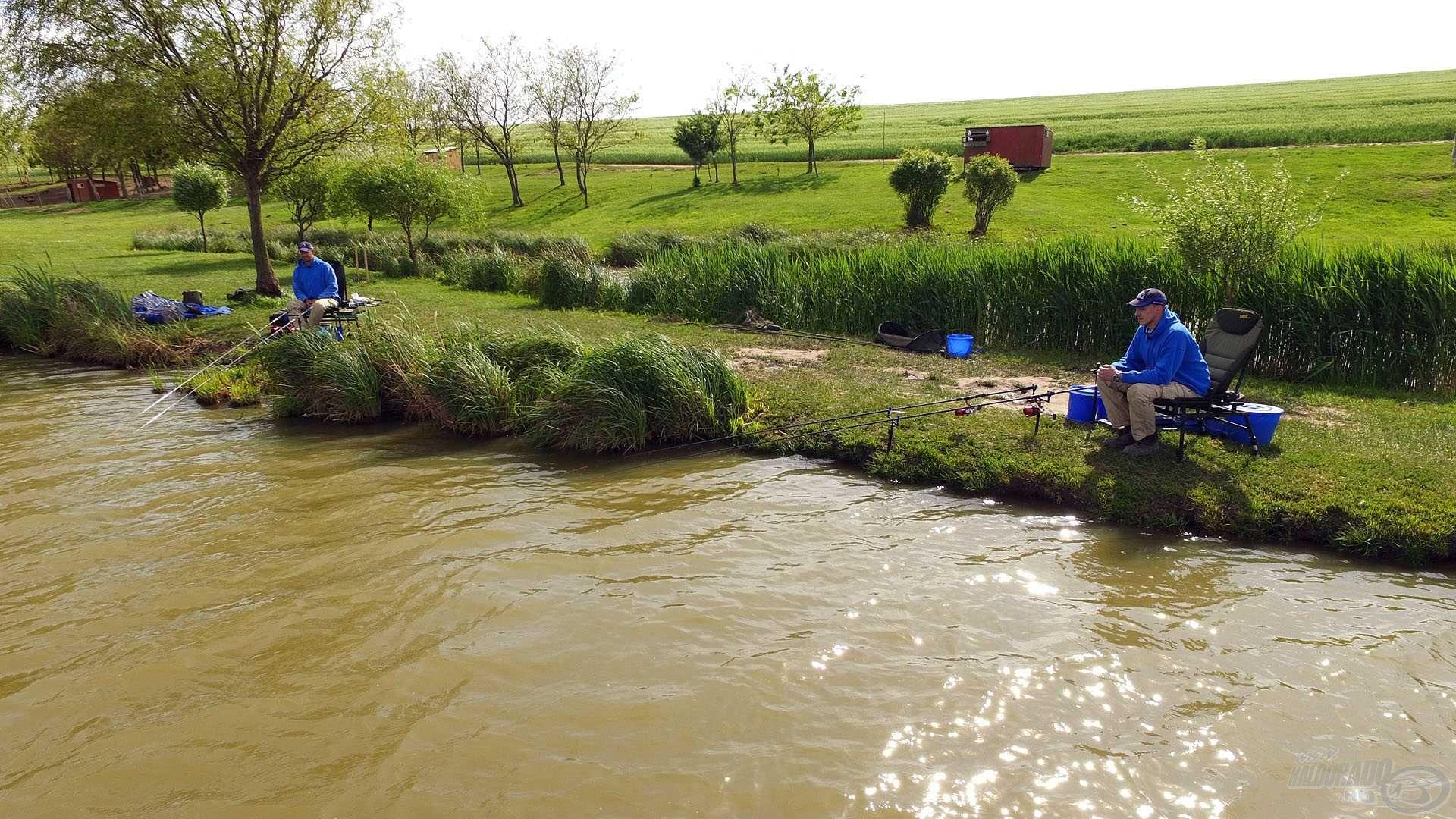 Öröm volt horgászni a gyönyörű, üde zöld környezetben