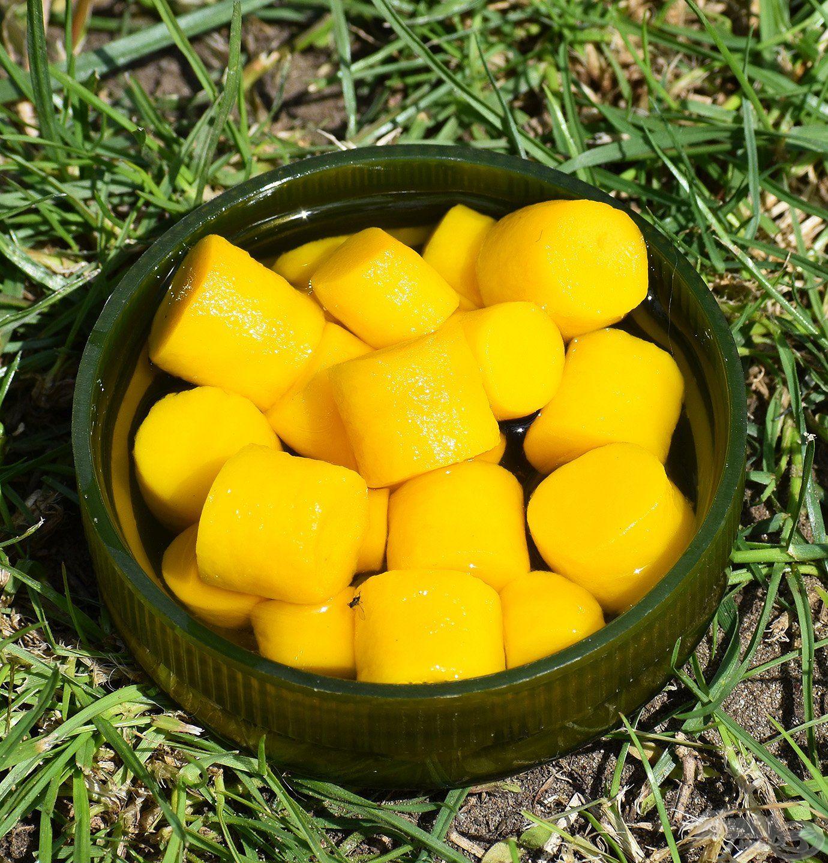 FermentX Natural Bait - Tejsavas Ananász sárga színnel és tejsavas, ananászos ízzel, illattal