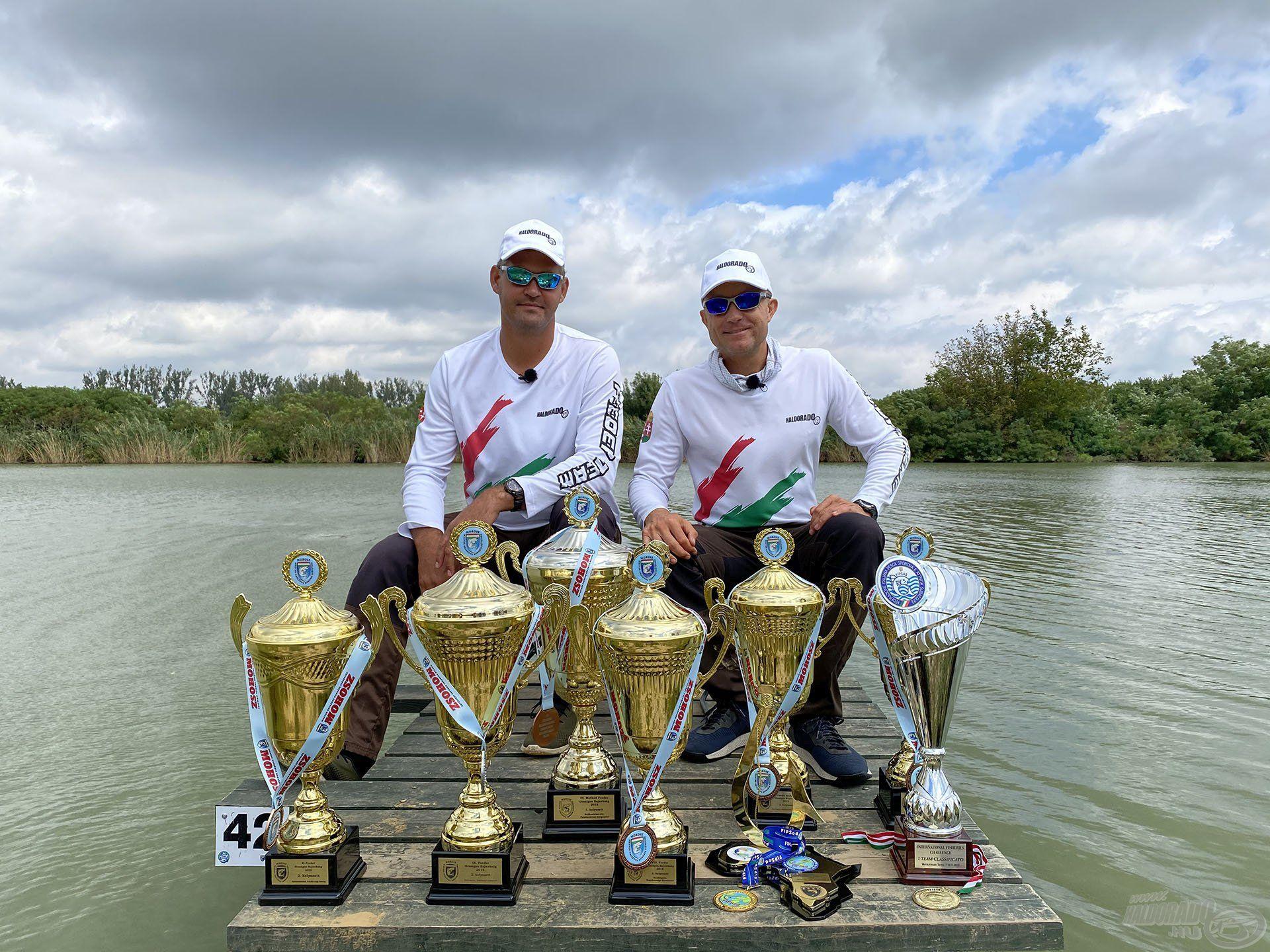 Az elmúlt években a Magyar Bajnokságokon és Nemzetközi viadalokon elért eredményeinkre joggal lehetünk büszkék