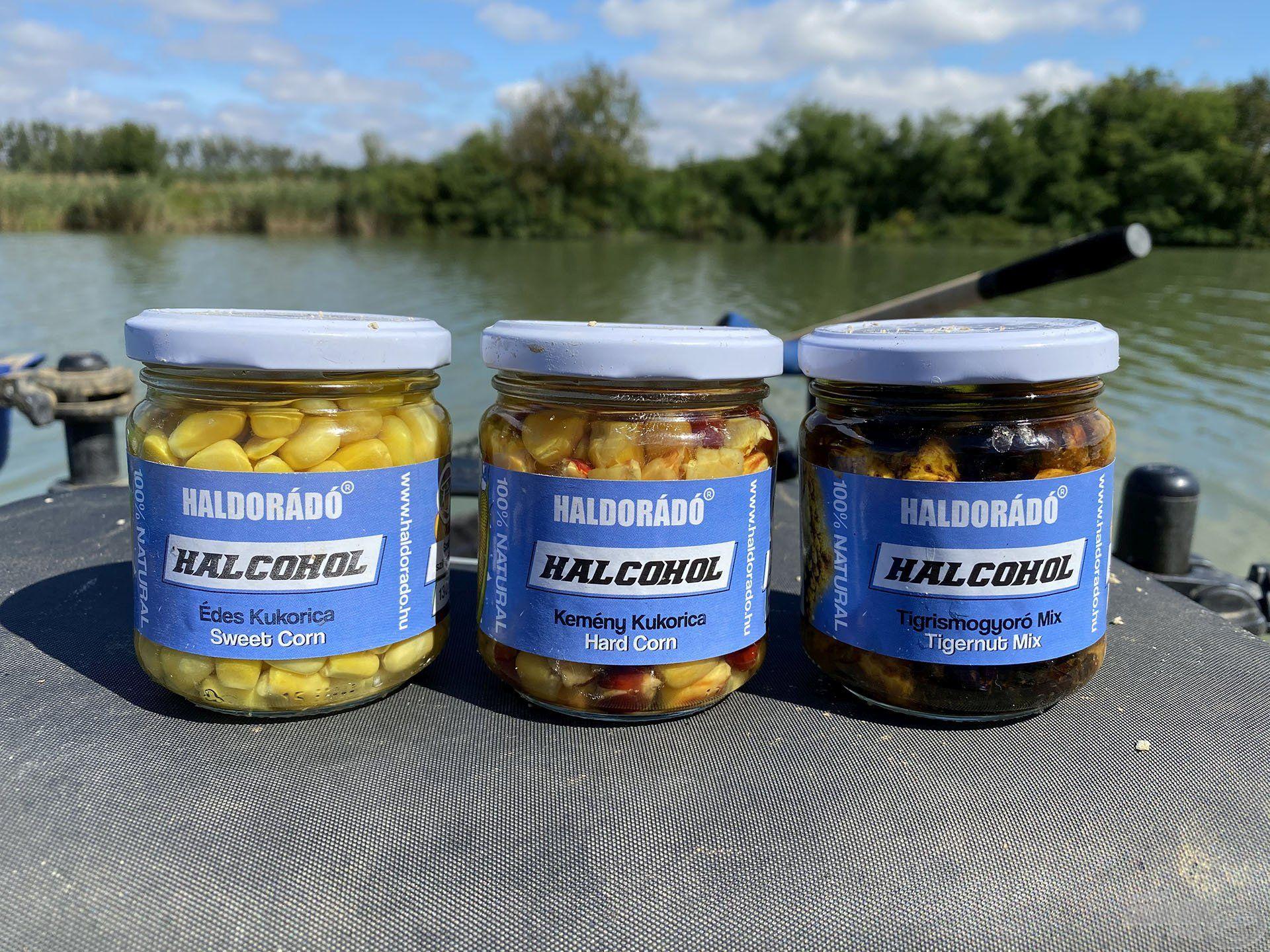 A Halcohol csalicsalád nemcsak kemény kukorica, hanem édes kukorica vagy klasszikus csemegekukorica változatban, valamint Tigrismogyoró Mixben is elérhető lesz