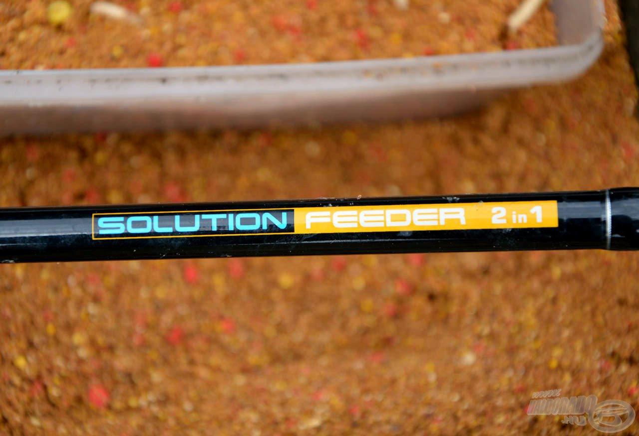 A Nevis Solution 3,90 m-es bot kellően gerinces a távoli dobások kivitelezéséhez