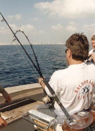 A tengeri horgászat során szintén szép halakat sikerült fognunk.