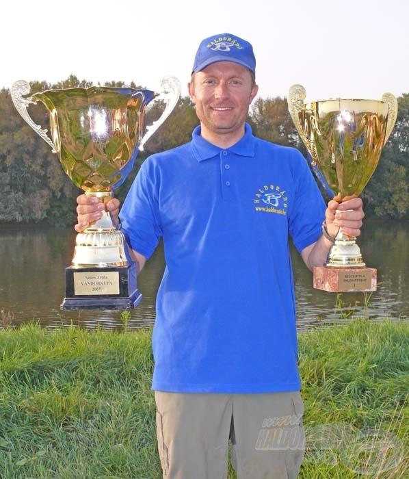 A Tímáron megrendezett horgászversenyen - a Dunán is bevált praktikákat alkalmazva - sikerült az első helyet megszereznem