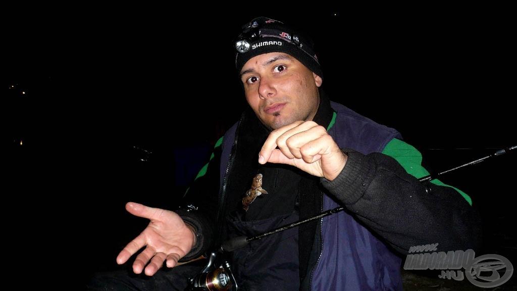 Simon Zoli barátom kedvenc halával :)