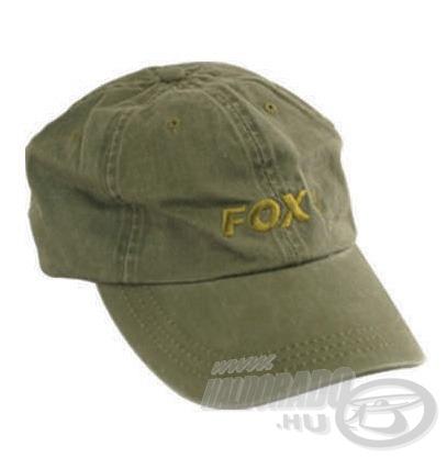 FOX Washed baseball sapka klasszikusnak számít