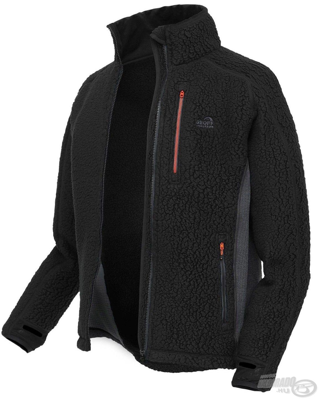 A Thermal3 dzseki egy kapucni nélküli, középső rétegként használható gyapjú kabát