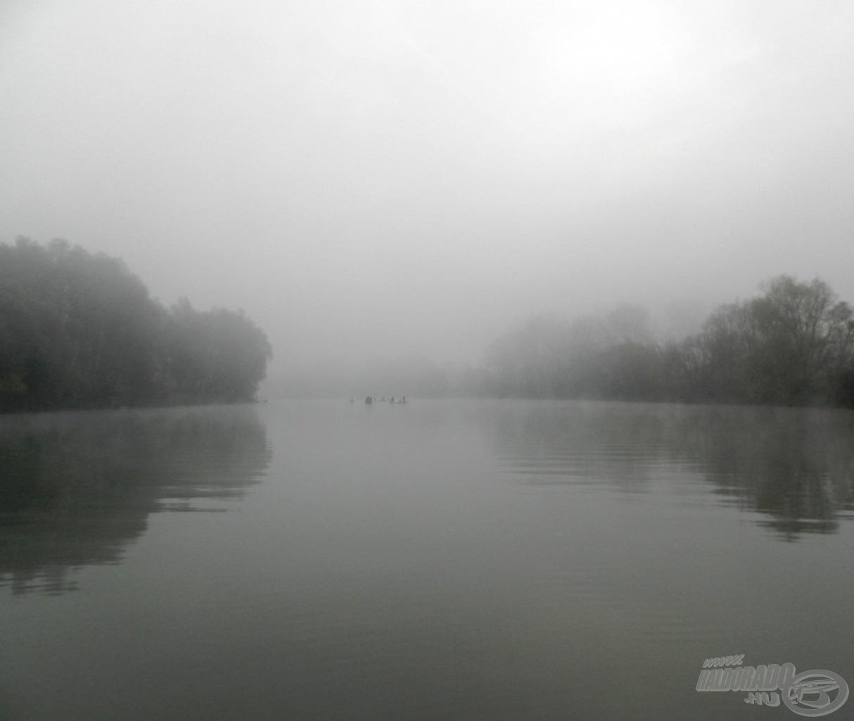 Téli csendélet a Tiszán